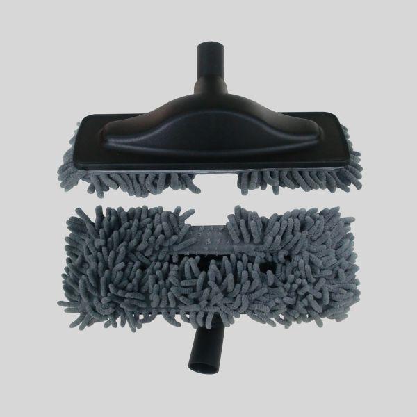 Escova Mopa Microfibra Cinzenta