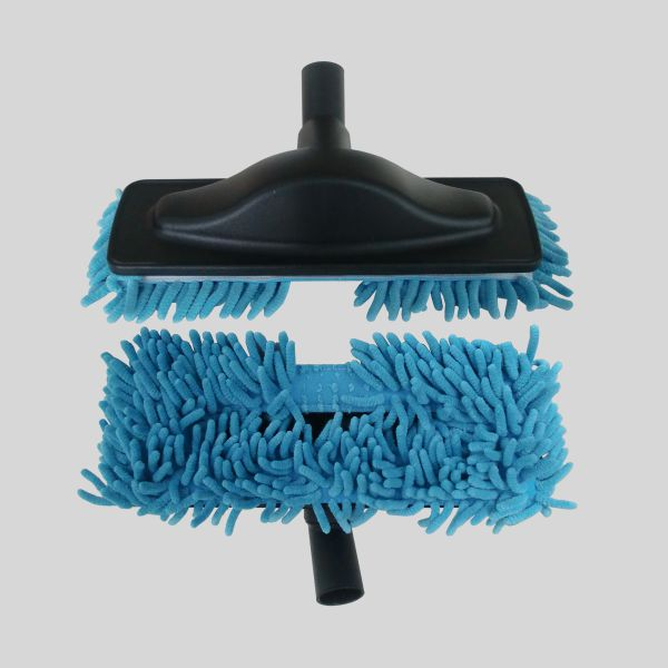 Escova Mopa Microfibra Azul
