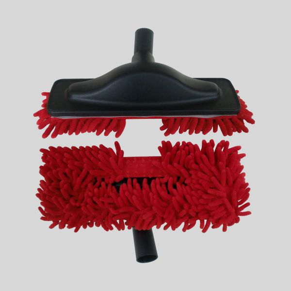 Escova Mopa Microfibra Vermelho