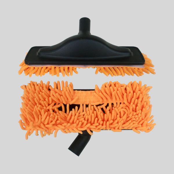 Escova Mopa Microfibra Laranja